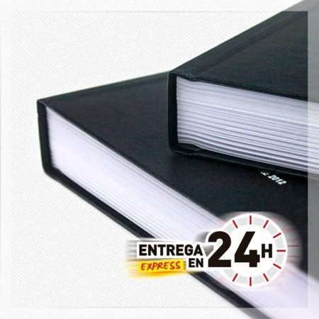 ENCUADERNACION CHANEL DIN A4 HASTA DE 30 A 70 HOJAS