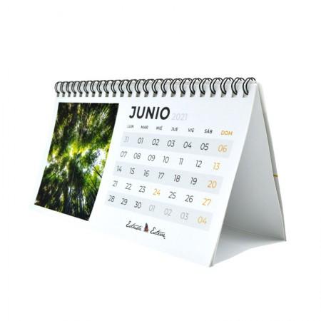 Calendarios escritorio frontal