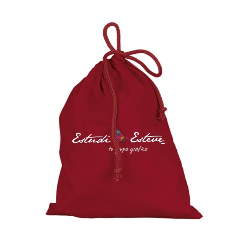 Bolsas de tela pequeñas roja