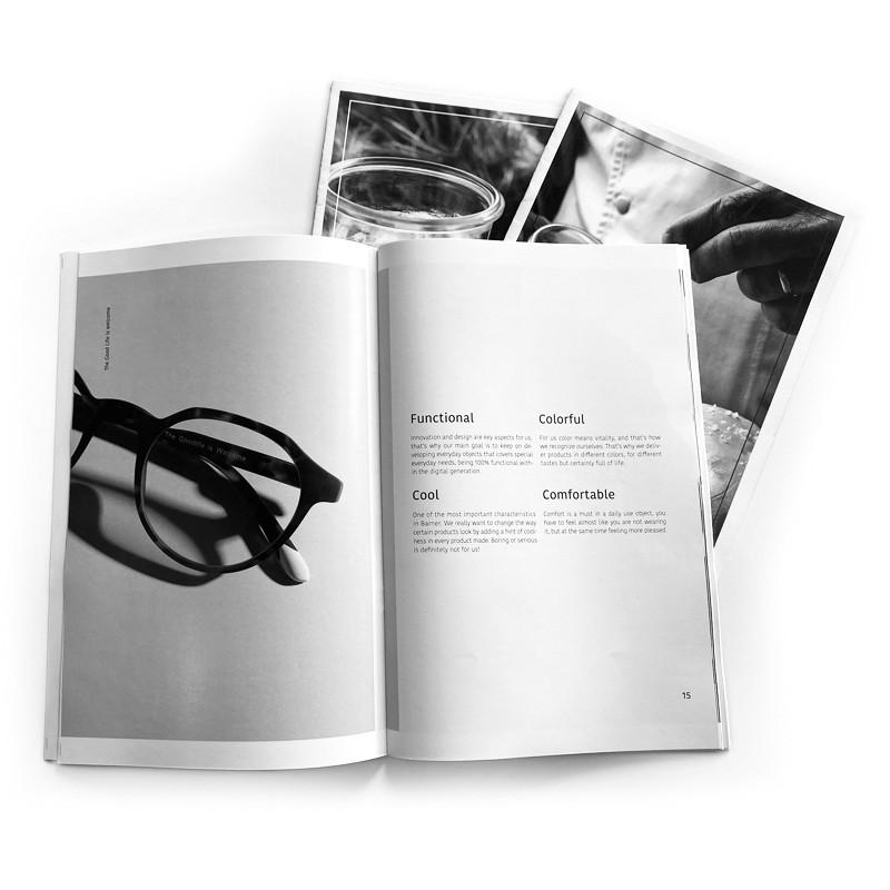 Revistas y Catálogos b-n